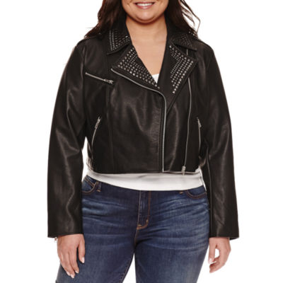 Ashley Nell Tipton For Boutique + Motorcycle Jacket Plus by Boutique +