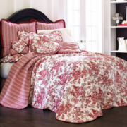 jcp home™ Toile Garden Bedspread & Accessories