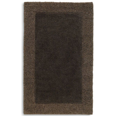 jcpenney.com | JCPenney Home™ Shag Border Washable Rectangular Rug