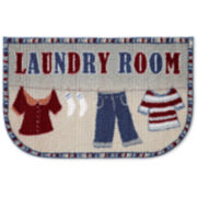 "JCPenney Home™ Quotations ""Hanging Laundry Room"" Rug"