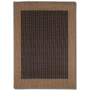 Couristan® Checkered Field Indoor/Outdoor Runner Rugs