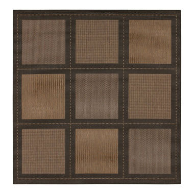 jcpenney.com | Couristan® Summit Indoor/Outdoor Square Rug