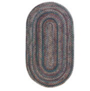 Pine Hill Reversible Braided Indoor/Outdoor Oval Runner Rug