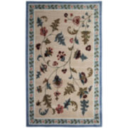 Flower Patch Washable Rectangular Rugs