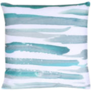 JCPenney Home™ Watercolor Stripes Decorative Pillow