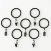 Royal Velvet® Set of 7 Clip Rings