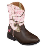 Realtree® Dusty Western Cowgirl Boots - Little Kids/Big Kids