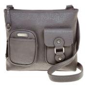 Rosetti® Ready to Roll Top-Zip Crossbody Bag