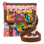 Lily Bloom North/South Crossbody Bag