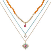 Decree® Beaded Brights 3-pc. Necklace Set