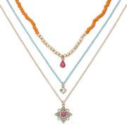 Decree® Beaded Brights 3-pc. Necklace Set
