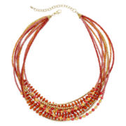 Mixit™ Multicolor Bead Multi-Row Necklace
