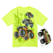 Graphic Tee with Toy Truck – Preschool Boys 4-7