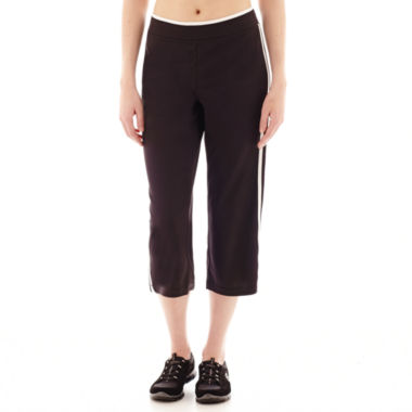 jcpenney.com | Made For Life™ Taped Mesh Capris - Petite