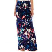 a.n.a® Fold-Over Maxi Skirt - Petite