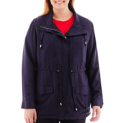 St. John's Bay® Soft Anorak Jacket - Plus