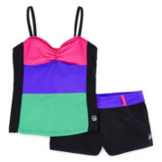 Free Country® 2-pc. Tankini and Shorts Swimsuit – Girls 7-16