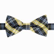 IZOD® Spruce Plaid Pre-Tied Bow Tie