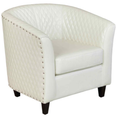 jcpenney.com | Harris Bonded Leather Quilted Club Chair