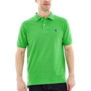 U.S. Polo Assn.® Short-Sleeve Solid Piqué Polo