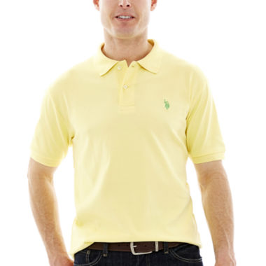 jcpenney.com | U.S. Polo Assn.® Short-Sleeve Solid Interlock Polo