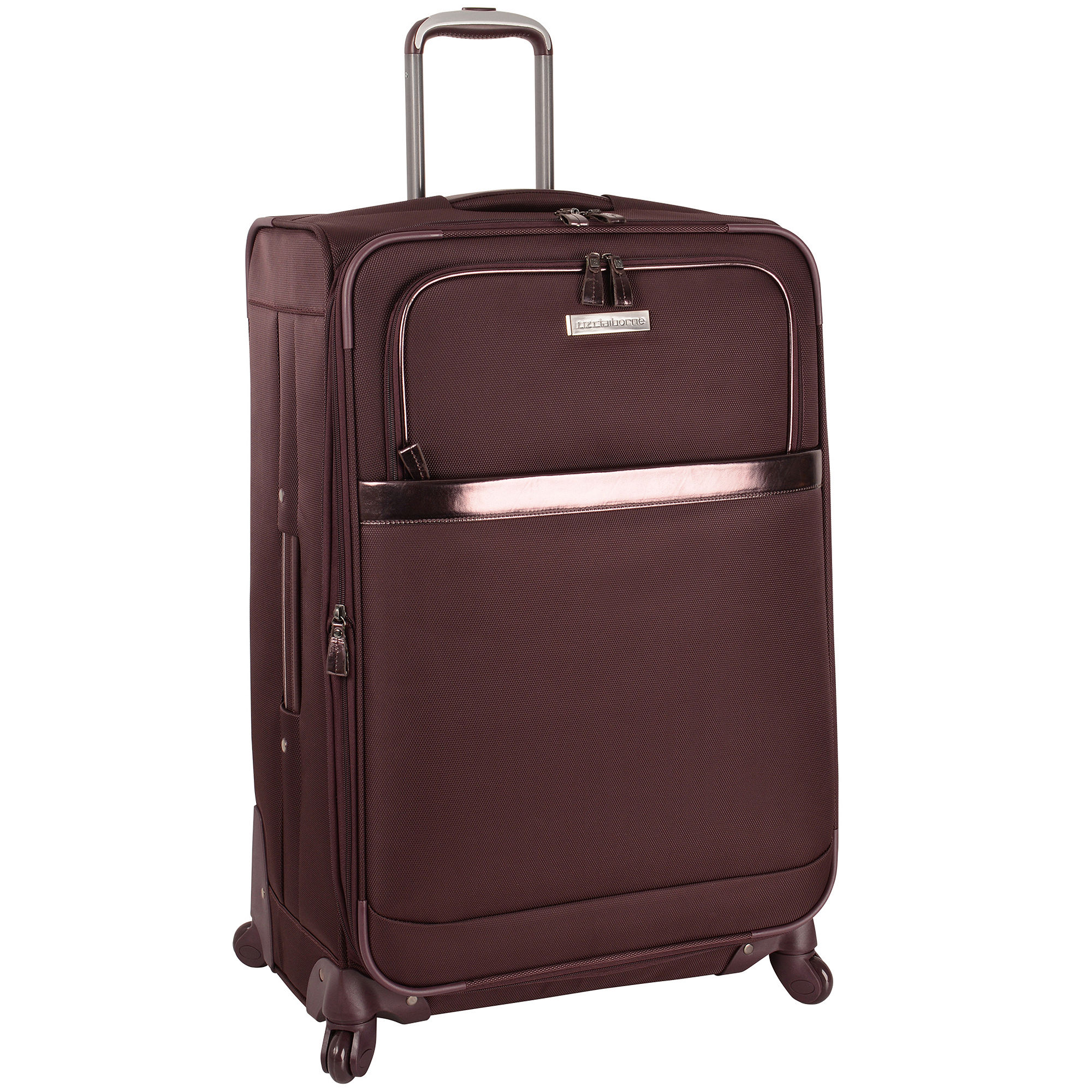 "Liz Claiborne Bel Air 28"" Expandable Spinner Upright Luggage"