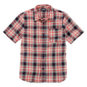Vans® Short-Sleeve Woven Shirt - Boys 8-20