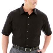 Van Heusen® Short-Sleeve Essential Woven Shirt–Big & Tall