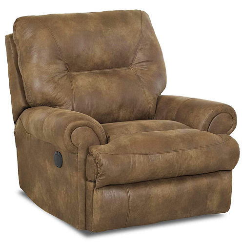 Brinkley Faux-Leather Power Recliner
