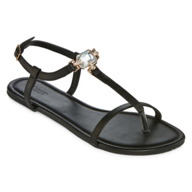 jcpenney.com | Mixit® Single-Stone Strappy Sandals