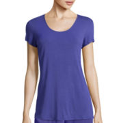 Ambrielle® Short-Sleeve Sleep Tunic
