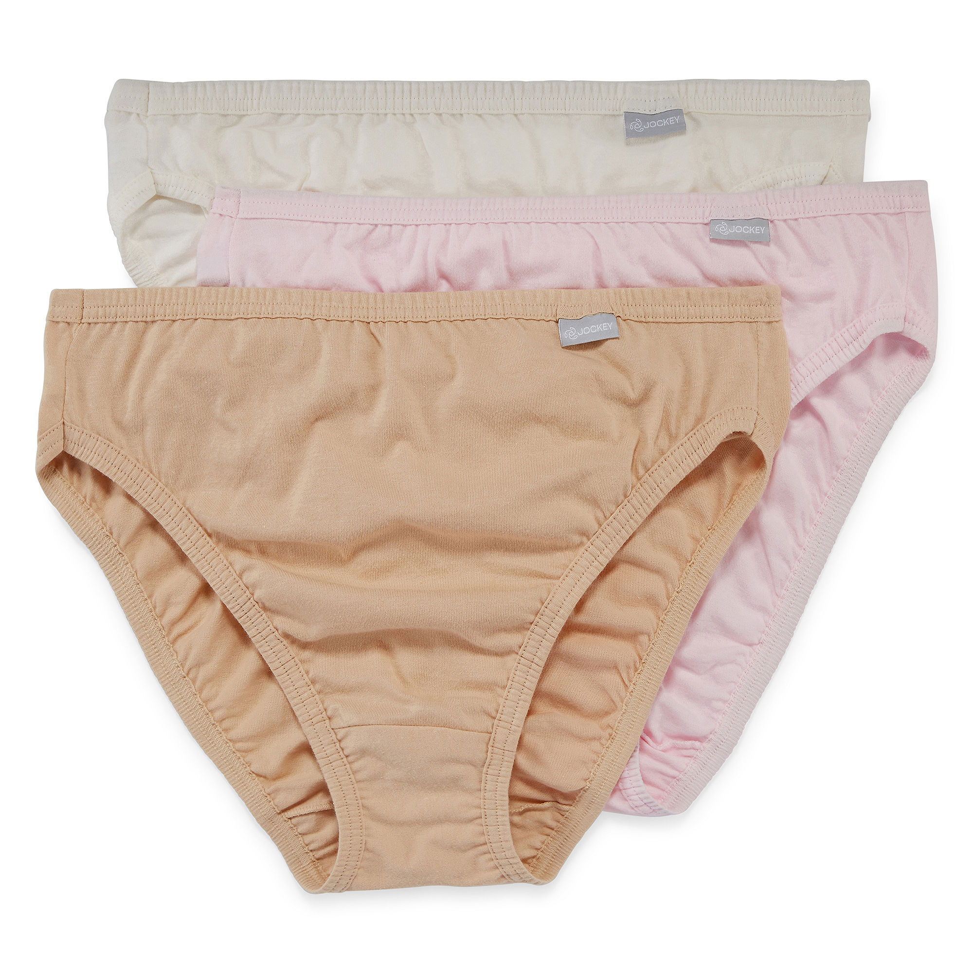 Jockey Elance 3-pk. French-Cut Panties - 1485 Plus plus size,  plus size fashion plus size appare