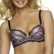 Jezebel Sylvia Lace Unlined Push Up Bra
