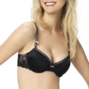 Jezebel Desire Embroidered Demi Unlined Bra