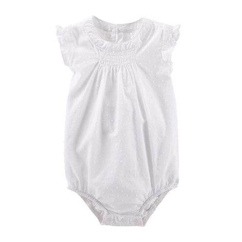 OshKosh B'gosh® Swiss Dot Flutter-Sleeve Bodysuit - Baby Girls 3m-24m