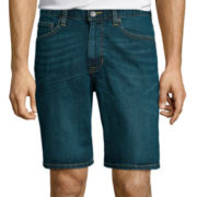 Arizona Original Flex Denim Flat Front Shorts