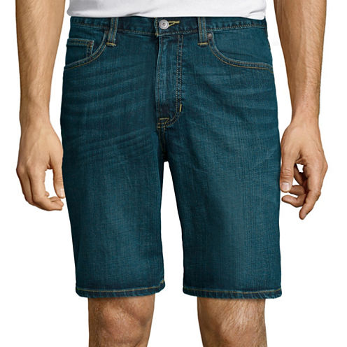 "Arizona Flex Jean Shorts 10"" Inseam"