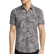 DC Shoes Co.® Short-Sleeve Floral Woven Shirt