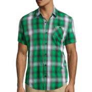 DC Shoes Co.® Stadium Plaid Short-Sleeve Woven Shirt