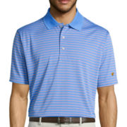 Jack Nicklaus® Short-Sleeve Glenmoor Stripe Performance Polo