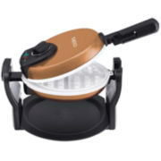Cooks Electric Ceramic Flip Waffle Maker