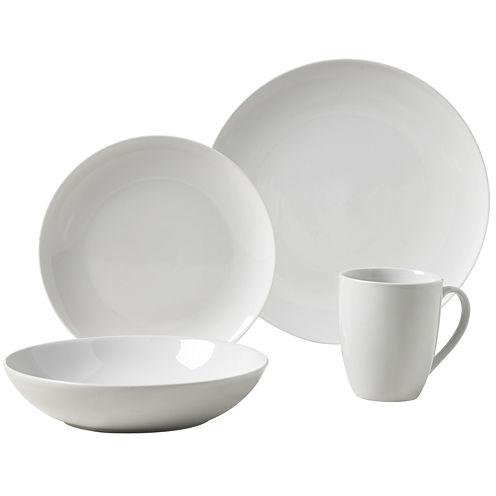 Tabletops Gallery® Collins 16-pc. Ceramic Dinnerware Set