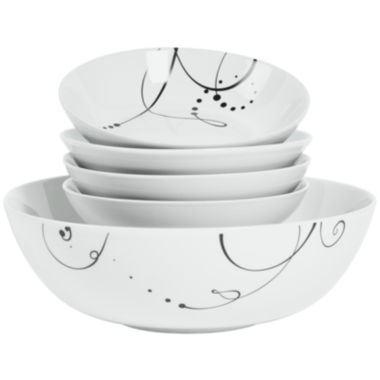 jcpenney.com | Tabletops Gallery® Pescara 5-pc. Pasta Set