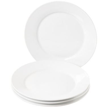 "jcpenney.com | Denmark® Set of 4 11"" Round Dinner Plates"