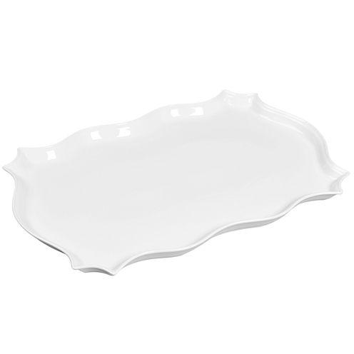 Denmark® Rectangular Porcelain Scalloped Platter