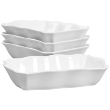 jcpenney.com | Denmark® Set of 4 Scallop Rectangular Single Servers