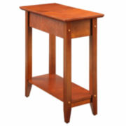 Jax Flip-Top Chairside Table