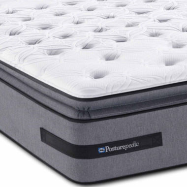 jcpenney.com | Sealy® Posturepedic® Solia Bay Firm Euro Pillow-Top - Mattress Only
