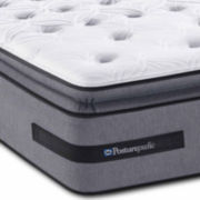 Sealy® Posturepedic® Solia Bay Cushion Firm Euro Pillow-Top Mattress - Mattress Only