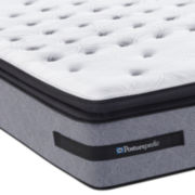 Sealy® Posturepedic® Jamarion Plush Euro Pillow-Top Mattress - Mattress Only